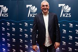 Event for 70 years of Slovenian basketball federation, 15 January, 2020, Ljubljana, Slovenia. Photo By Grega Valancic / Sportida