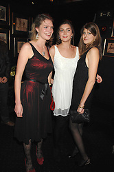 Left to right, sisters PRINCESS BEATRICE VON PREUSSEN, PRINCESS AUGUSTA VON PREUSSEN and PRINCESS FLORENCE VON PREUSSEN at a party to celebrate the publication of the 2007 Tatler Little Black Book held at Tramp, 40 Jermyn Street, London on 7th November 2007.<br />