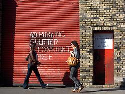 UK ENGLAND LONDON 22JUL08 - Pedestrians in a street scene in London's East End during the morning rush hour...jre/Photo by Jiri Rezac..© Jiri Rezac 2008..Contact: +44 (0) 7050 110 417.Mobile:  +44 (0) 7801 337 683.Office:  +44 (0) 20 8968 9635..Email:   jiri@jirirezac.com.Web:    www.jirirezac.com..All images © Jiri Rezac 2008. All rights reserved.