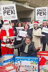 DEC 11 2014 Santa Books at Ministry of Justice