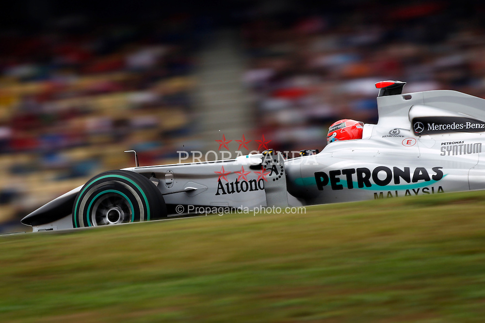 Motorsports / Formula 1: World Championship 2010, GP of Germany, 03 Michael Schumacher (GER, Mercedes GP Petronas),