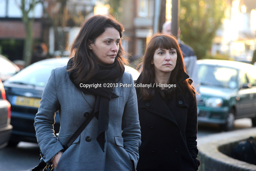 Grillo Sisters Isleworth Crown Court. Elisabetta Grillo (L) and Francesca Grillo (in dark jacket), former personal assistants to Charles Saatchi and Nigella Lawson arrive with lawyer Victoria Gregory(R) at Isleworth Crown Court in London. The pair, who face fraud charges, are accused of misappropriating funds while working for Lawson and Saatchi. Isleworth Crown Court, London, United Kingdom. Thursday, 19th December 2013. Picture by Peter Kollanyi / i-Images<br /> File Photo  - Nigella Lawson and Charles Saatchi PAs cleared of fraud. The trial of Francesca Grillo, 35, and sister Elisabetta, 41, heard they spent £685,000 on credit cards owned by the TV cook and ex-husband Charles Saatchi.<br /> Photo filed Monday 23rd December 2013