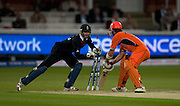 Bas Zuiderent is stumped by James Foster off Adil Rashid during the opening ICC World Twenty20 Cup match between England and Netherlands at Lord's. Photo © Graham Morris (Tel: +44(0)20 8969 4192 Email: sales@cricketpix.com)