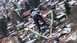 30.01.2016, Normal Hill Indiviual, Oberstdorf, GER, FIS Weltcup Ski Sprung Ladis, Bewerb, im Bild Sofya Tikhonova (RUS) // SofyaTikhonova of Russian Federation during her Competition Jump of FIS Ski Jumping World Cup Ladis at the Normal Hill Indiviual, Oberstdorf, Germany on 2016/01/30. EXPA Pictures © 2016, PhotoCredit: EXPA/ Peter Rinderer