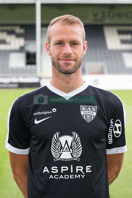 July 11, 2017 - Eupen, BELGIUM - Eupen's Siebe Blondelle poses for photographer at the 2017-2018 season photo shoot of Belgian first league soccer team KAS Eupen, Tuesday 11 July 2017 in Eupen. BELGA PHOTO BRUNO FAHY (Credit Image: © Bruno Fahy/Belga via ZUMA Press)