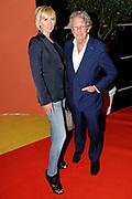 Album release party van Patty Brard: 'Patty's Party' in Sir Winston Music Club, Rijswijk .<br /> <br /> Op de foto:  Jan en Monique des Bouvrie