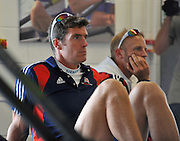Reading, Great Britain, GBR M8+ 2011 GBRowing World Rowing Championship, Team Announcement.  GB Rowing  Caversham Training Centre.  Tuesday  19/07/2011  [Mandatory Credit. Peter Spurrier/Intersport Images] Greg Searle,
