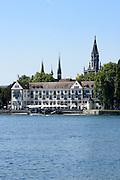 Dominikanerinsel, Konstanz, Bodensee, Baden-Württemberg, Deutschland