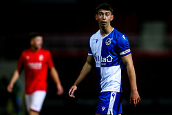 Ollie Hulbert of Bristol Rovers - Mandatory by-line: Robbie Stephenson/JMP - 29/10/2019 - FOOTBALL - County Ground - Swindon, England - Swindon Town v Bristol Rovers - FA Youth Cup Round One