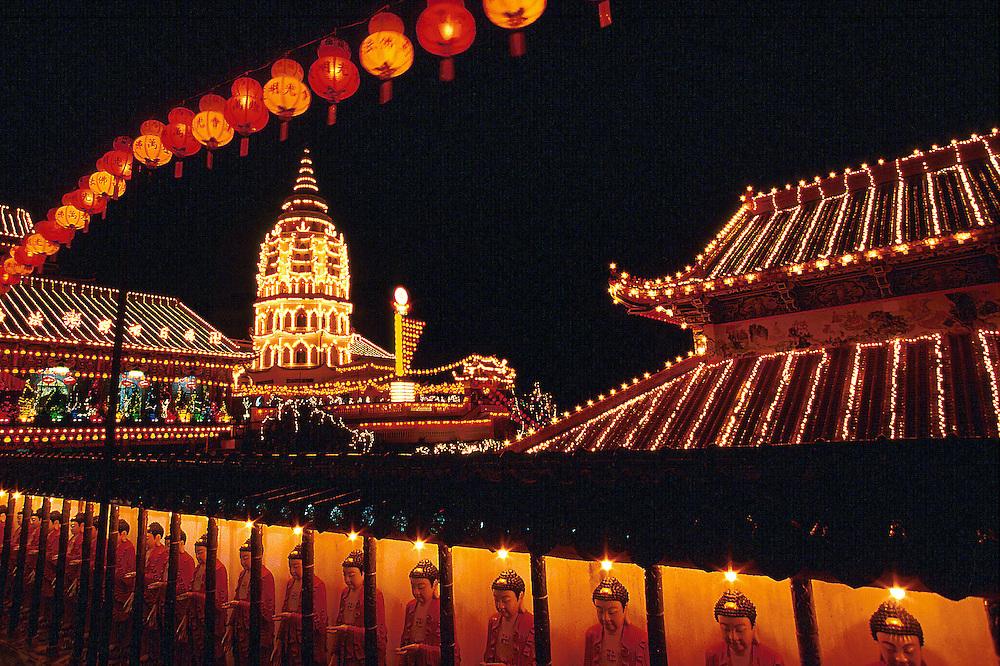 Chinese Temple..Kek Lok Si Temple, Air Itam, Penang, Malaysia...Photo credit : ©Ahmad Yusni.