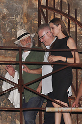 19.08.2011., Brijuni, Croatia - Actress Angelina Jolie arrived to northen Adriatic archipelago of Brijuni as a guest of the actor Rade Serbedzija and the Ulysses theatre. Angelina watched the play King Lear directed by Lenka Udovicki, Serbedzija's wife. She arrived to Croatia on friday evening by her private plane. Famous actress and humanitarian was expected to arrive last year also, but because of the media pressure she cancelled the visit. Jolie also met with Croatian president Ivo Josipovic with whom she talked about the problem of landmines. .                                                                                                 Foto ©  nph / Dusko Marusic       ****** out of GER / CRO  / BEL ******