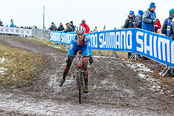 Karla Stepanova (CZE), Women Elite, Cyclo-cross World Championships Tabor, Czech Republic, 31 January 2015, Photo by Pim Nijland / PelotonPhotos.com