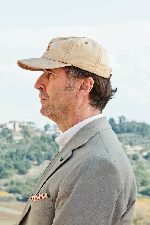 08 NOV 2011 - Solomeo (Perugia) - Brunello Cucinelli, stilista e industriale del cashmere.
