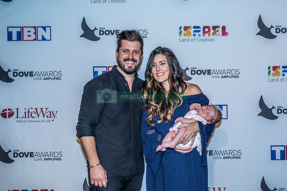 October 11, 2016 - Nashville, Tennessee, USA - Travis Ryan at the 47th Annual GMA Dove Awards  in Nashville, TN at Allen Arena on the campus of Lipscomb University.  The GMA Dove Awards is an awards show produced by the Gospel Music Association. (Credit Image: © Jason Walle via ZUMA Wire)