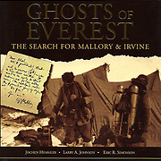 Ghosts of Everest, the story of the 1999 Mallory & Irvine Research Expedition.