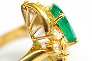 Emerald & Gold ring.