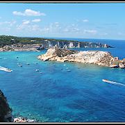 Le isole Tremiti (o Diomedee) sono un arcipelago del mare Adriatico, sito 12 miglia nautiche a nord del promontorio del Gargano,. l'arcipelago costituisce il comune italiano di Isole Tremiti di 496 abitanti della provincia di Foggia in Puglia e fa parte del Parco Nazionale del Gargano...Il Gargano, noto anche come Sperone d'Italia è un promontorio montuoso che si estende nella parte settentrionale della Puglia in  Provincia di Foggia