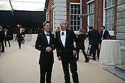 Christopher Bailey and Neil Tennant, Ark Gala Dinner, Marlborough House, London. 5 May 2006. ONE TIME USE ONLY - DO NOT ARCHIVE  © Copyright Photograph by Dafydd Jones 66 Stockwell Park Rd. London SW9 0DA Tel 020 7733 0108 www.dafjones.com