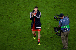 CARDIFF, WALES - Thursday, September 6, 2018: Wales goal scorer Gareth Bale leaves the field after the UEFA Nations League Group Stage League B Group 4 match between Wales and Republic of Ireland at the Cardiff City Stadium. Wales won 4-1. (Pic by Laura Malkin/Propaganda)