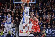 DESCRIZIONE : Sassari LegaBasket Serie A 2015-2016 Dinamo Banco di Sardegna Sassari - Giorgio Tesi Group Pistoia<br /> GIOCATORE : MarQuez Haynes<br /> CATEGORIA : Tiro Tre Punti Three Point Controcampo<br /> SQUADRA : Dinamo Banco di Sardegna Sassari<br /> EVENTO : LegaBasket Serie A 2015-2016<br /> GARA : Dinamo Banco di Sardegna Sassari - Giorgio Tesi Group Pistoia<br /> DATA : 27/12/2015<br /> SPORT : Pallacanestro<br /> AUTORE : Agenzia Ciamillo-Castoria/L.Canu