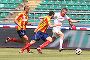 Foto di Donato Fasano - LaPresse.15  05  2011  Bari ( Italia ).Sport Calcio.AS Bari -  Us Lecce   TIM Serie A 2010  2011 - Stadio San Nicola Bari.Nella foto: huseklepp  nenad  giacomazzi.Photo Donato Fasano - LaPresse.15  05  2011 Bari ( Italy ).Sport Soccer.AS Bari  - Us Lecce Serie  A Soccer League 2010 2011- San Nicola Stadium Bari.In the Photo: huseklepp  nenad  giacomazzi