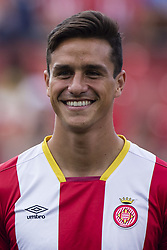 August 15, 2017 - Girona, Spain - Portrait of Bernardo Espinosa from Spain of Girona FC  during the Costa Brava Trophy match between Girona FC and Manchester City at Estadi de Montilivi on August 15, 2017 in Girona, Spain. (Credit Image: © Xavier Bonilla/NurPhoto via ZUMA Press)