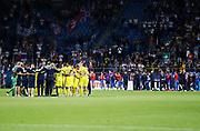 LUBLIN, POLAND - 2017-06-22: Laget samlas efter UEFA U21 matchen mellan Slovakien och Sverige p&aring;  Arena Lublin den 22 juni, 2017 i Lublin, Polen. <br /> Foto: Nils Petter Nilsson/Ombrello<br /> Fri anv&auml;ndning f&ouml;r kunder som k&ouml;pt U21-paketet.<br /> Annars Betalbild.<br /> ***BETALBILD***