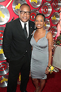 "September 18, 2012- Harlem, New York: (L-R) Greg Cunningham, Senior Group Manager, Strategic Partnerships & Lifestyles Marketing, Target and Rachel Noerdlinger, President & CEO, Noerdlinger Media attends Sylvia's Restaurant 50th Anniversary Golden Jubliee Gala celebrating the life and legacy of the late Sylvia Woods and held at Sylvia's Restaurant on September 18, 2012 in the Village of Harlem, USA. The 50th Anniversary Gala salutes Sylvia's as ""the world's kitchen"" and celebrates a legend of the historic Harlem community. With an invite-only fundraising event for 500+ guests, the night kicked-off with a lavish cocktail hour and live performances from Sylvia's A-list guests, many of whom have made Sylvia's a home away from home for the past 5 decades.(Terrence Jennings)"