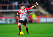 Exeter City's Matt Oakley during the Sky Bet League 2 match between Exeter City and Luton Town at St James' Park, Exeter, England on 19 December 2015. Photo by Graham Hunt.