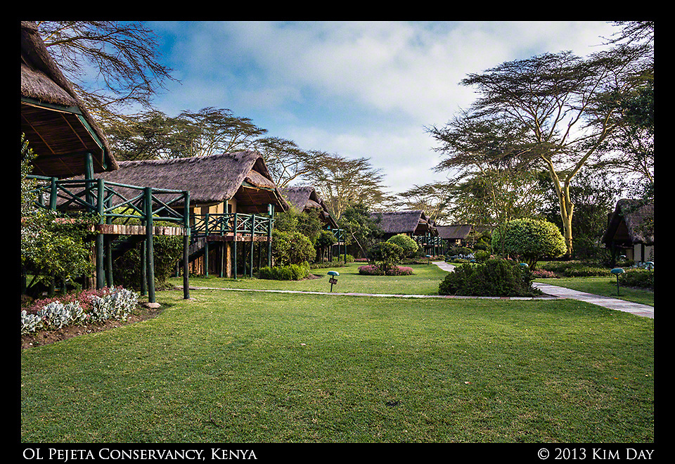 Tents at Sweetwaters<br /> OL Pejeta - Mt. Kenya - Kenya<br /> September 2013