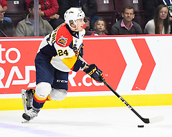 Darren Raddysh of the Erie Otters in Game 2 of the 2017 MasterCard Memorial Cup against the Seattle Thunderbirds on Saturday May 20, 2017 at the WFCU Centre in Windsor, ON. Photo by Aaron Bell/CHL Images