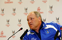 Photo: Richard Lane Photography. Emirates Cup Press Conference. 01/08/2008. Hamburg manager, Martin Jol.