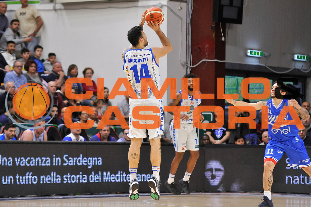 Brian Sacchetti<br /> Banco di Sardegna Dinamo Sassari - Enel New Basket Brindisi<br /> LegaBasket Serie A LBA Poste Mobile 2016/2017<br /> Sassari 02/04/2017<br /> Foto Ciamillo-Castoria