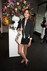 ALEXA CHUNG at the opening of 'The House of Viktor & Rolf' an exhibtion of designs by Viktor & Rolf held at The Barbican Art Gallery, Silk Sytreet, London on 17th June 2008.<br />