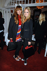 Left to right, MARY FELLOWES and LADY ELOISE ANSON at the Grand Classics screening of the film 'Don't Look Now' sponsored by Motorola held at The Electric Cinema, 181 Portobello Road, London W11 on 24th September 2007. <br />