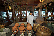 Evason Ana Mandara & Six Senses Spa ? Nha Trang. Breakfast Buffet at Pavilion Restaurant.
