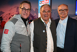 18.02.2018, Austria House, Pyeongchang, KOR, PyeongChang 2018, Medaillenfeier, im Bild Saalbach Abend, v.l. Heinz Christian Strache, Karl Stoss // during a medal celebration of the Pyeongchang 2018 Winter Olympic Games at the Austria House in Pyeongchang, South Korea on 2018/02/18. EXPA Pictures © 2018, PhotoCredit: EXPA/ Erich Spiess