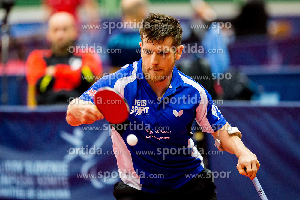 WETHERILL David Paul during day 1 of 15th EPINT tournament - European Table Tennis Championships for the Disabled 2017, at Arena Tri Lilije, Lasko, Slovenia, on September 28, 2017. Photo by Ziga Zupan / Sportida