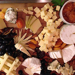 Cheese Plate, SV Maple Leaf, Gulf Islands, British Columbia, Canada