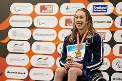 RUNG Sarah Louise NOR at 2015 IPC Swimming World Championships -  Women's 100m Breaststroke SB4