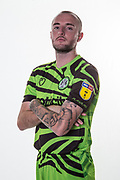Forest Green Rovers Carl Winchester(7) during the official team photocall for Forest Green Rovers at the New Lawn, Forest Green, United Kingdom on 29 July 2019.