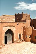 Tamdaght Kasbah, Ounila Valley (connecting Ait BenHaddou to Telouet Kasbah) Ouarzazate Province, Morocco Morocco, 2016-04-23. <br />
