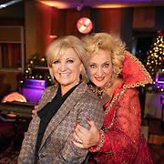 NLD/Hilversum/20181002 - Artiesten Holland zingt Kerst 2018, Karin Bloemen en Anita Meyer