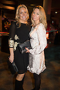 REBECCA BETTANY; CHRISTINA TOWNLEY-VINCENT, Action Against Cancer 'A Voyage of Discovery' fundraising dinner at the Science Museum on Wednesday 14 October 2015.