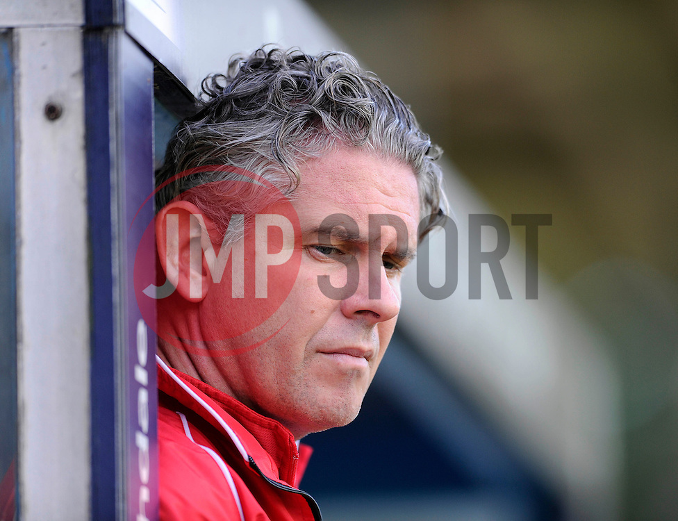 Bristol City's head physiotherapist, Steve Allen - Photo mandatory by-line: Dougie Allward/JMP - Mobile: 07966 386802 23/08/2014 - SPORT - FOOTBALL - Manchester - Spotland Stadium - Rochdale AFC v Bristol City - Sky Bet League One