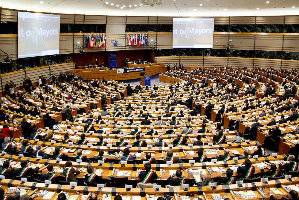 EKSEL - BELGIUM - 04 MAY 2010 -- Covenant of Mayors Cermony in the EU-Parliament. PHOTO: ERIK LUNTANG / INSPIRIT Photo..