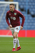 14 Ben Gibson for Burnley FC during the Premier League match between Burnley and Fulham at Turf Moor, Burnley, England on 12 January 2019.