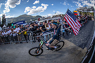 Team USA at the opening ceremony at the 2018 UCI MTB World Championships - Lenzerheide, Switzerland