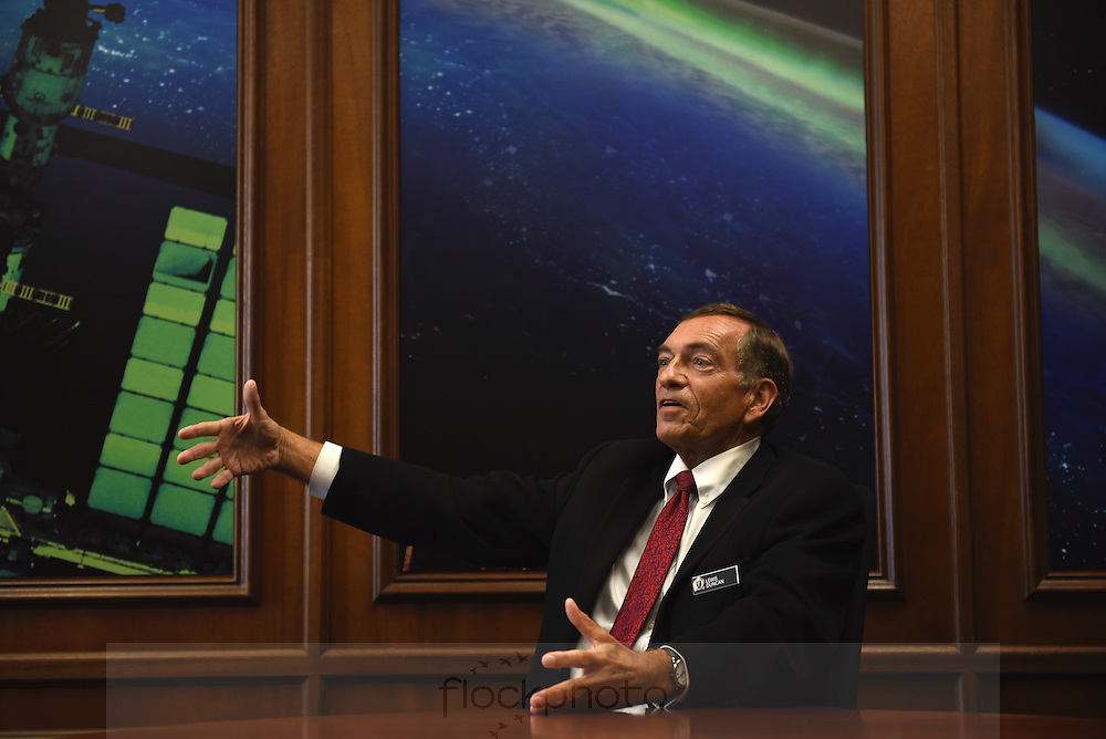 Lewis M. Duncan, Provost of the U.S. Naval War College, and Member of Board of Directors of the Center for the Advancement of Science in Space, which oversees management of the U.S. National Laboratory of the International Space Station.