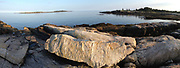 Panorama: Schoodic Peninsula, Acadia National Park, Mount Desert Island, Maine, US